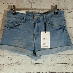 Forever 21 Mid rise shorts